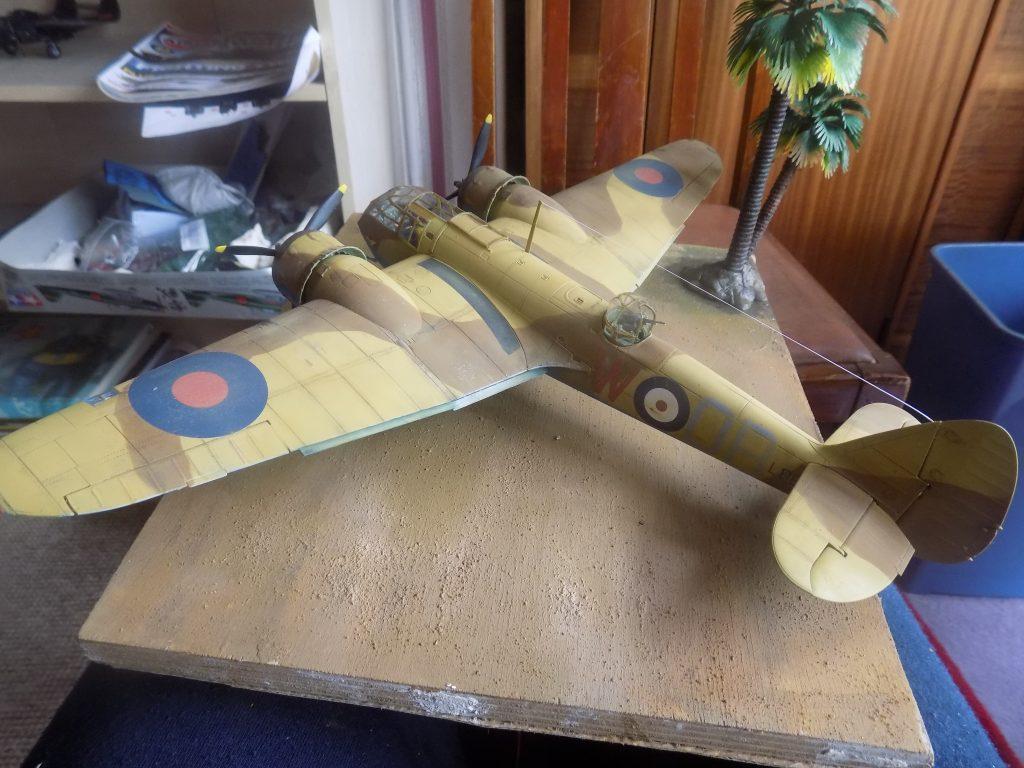 Model Maker 1//48 BRISTOL BLENEIM Mk.IF Paint Mask Set for Airfix Kit