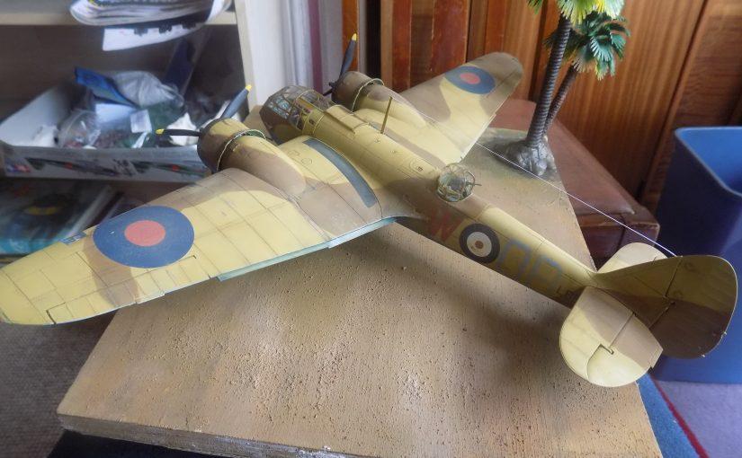 Bristol Blenheim Mk.IF Airfix 1/48 scale.