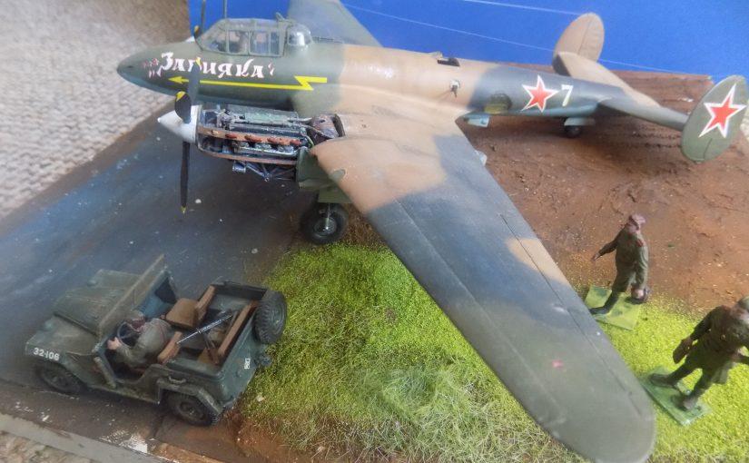 Petlyakov Pe-2 Soviet Dive bomber  Пикирующий бомбардировщик Пе-2