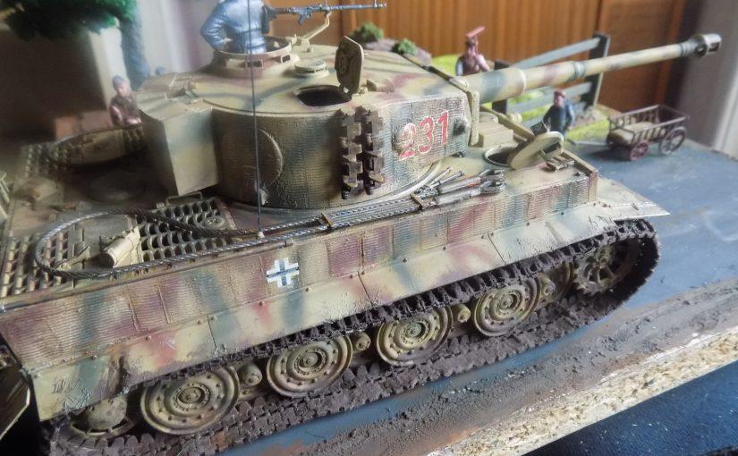 Tiger 1 Late version Tamiya 1 35