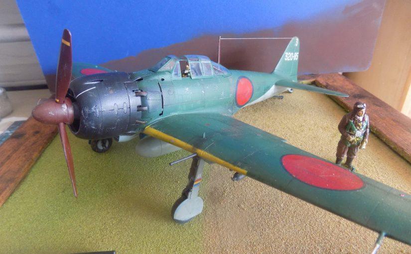 Mitsubishi A6M5 Zero Fighter. Tamiya 1 32 scale.